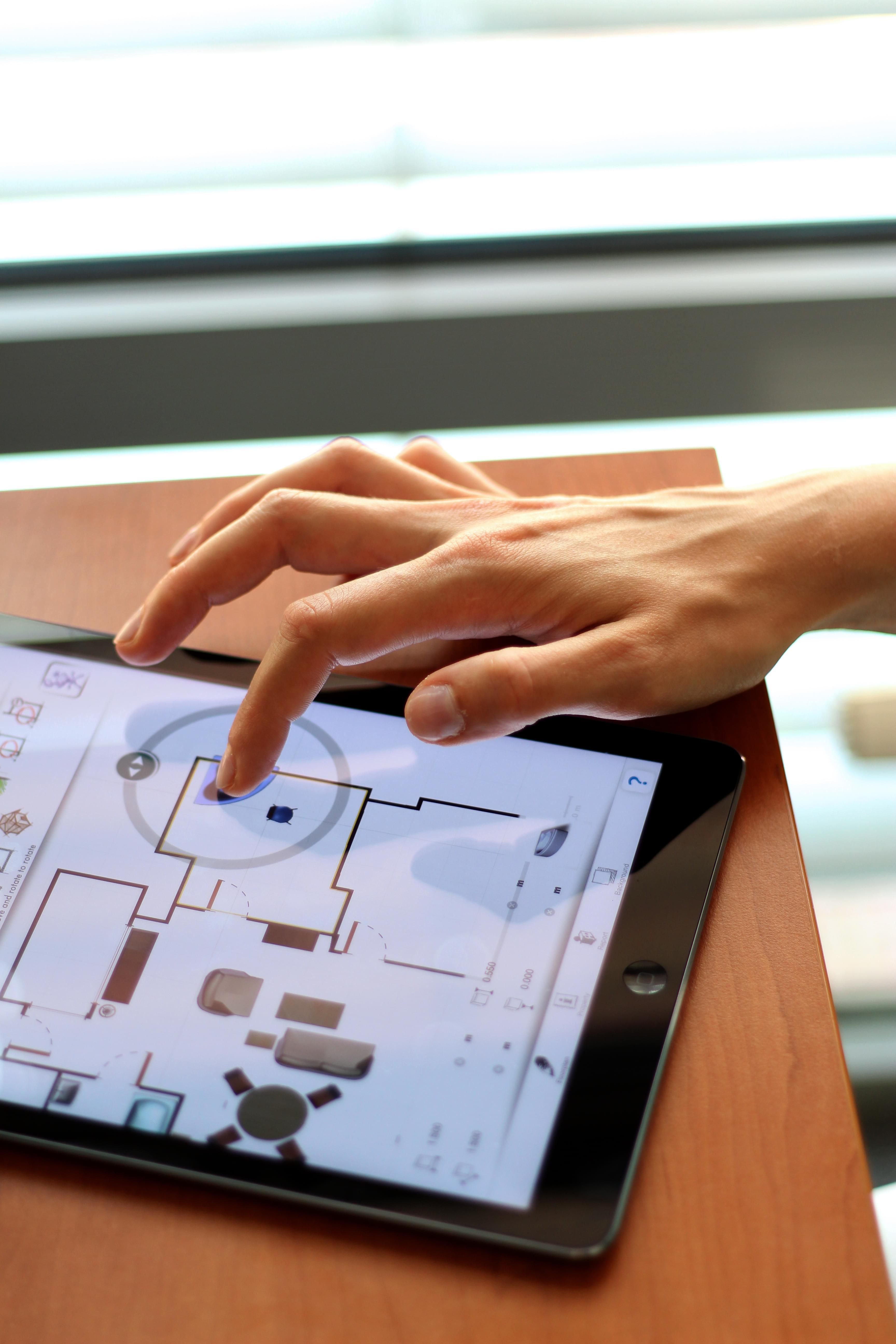 Create on iPad floorplans