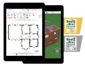 Architectural CAD software on iPad