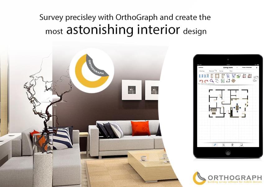 orthograph interior design plakat 02. Black Bedroom Furniture Sets. Home Design Ideas